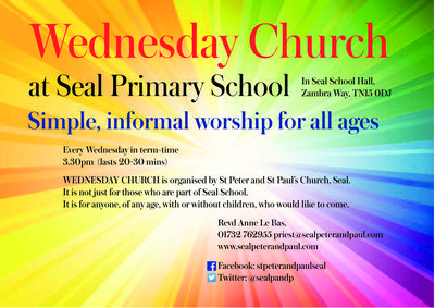 Wednesday Church at Seal School